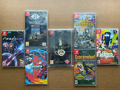 $225 • Buy Lot Of 7 (Nintendo Switch Games) Brand New!! Free Shipping!!