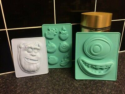 Disney Cakes & Sweets; Monsters INC: Silicone Baking Molds, Pixar  • 9£
