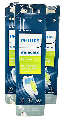 AU43.96 • Buy Philips Sonicare DiamondClean Toothbrush (6) Head HX6062/65