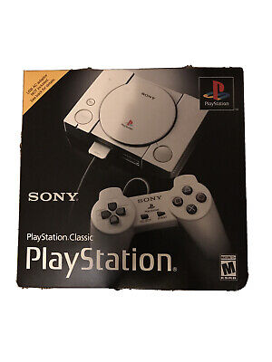 $60 • Buy Original Sony PlayStation Classic Mini Console With 20 Classic Games, SCPH-1000