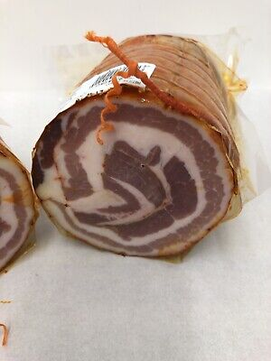 £17.99 • Buy Italian Rolled Cured Spicy Pancetta 1kg Pork Belly , Streaky Bacon Picante