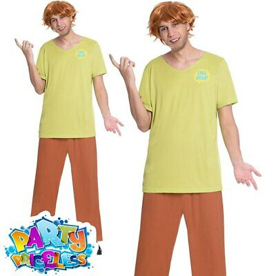 £26.99 • Buy Adult Shaggy Costume Mens Scooby Doo Cartoon World Book Day Fancy Dress Outfit