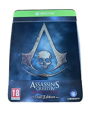 Assassins Creed Black Flag Skull Edition Without Game & Steelbook • 0.99£