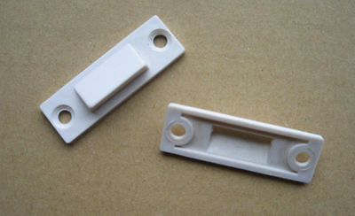 White UPVC Window Locking Wedges - Improves Security And Seal - 5 Pairs  • 3.50£