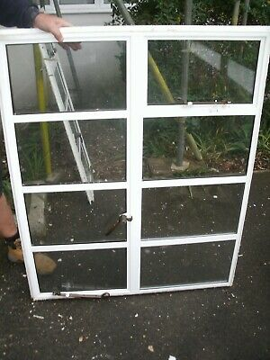 ARCHITECTURAL ANTIQUES - ART DECO DOUBLE GLAZED CRITTALL WINDOW- 100 X 122 CMS/3 • 245£