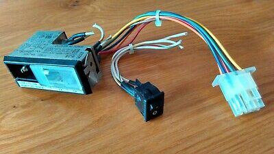 £11.95 • Buy IEC MAINS CORCOM FILTER F7657 6A 120/250V With SWITCH Panel Mount