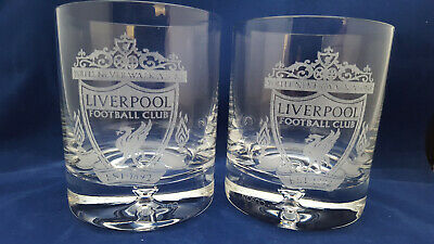 £14.99 • Buy  FC LIVERPOOL WHISKY GLASSES 2 X 250 Ml .HIGH QUALITY!!!