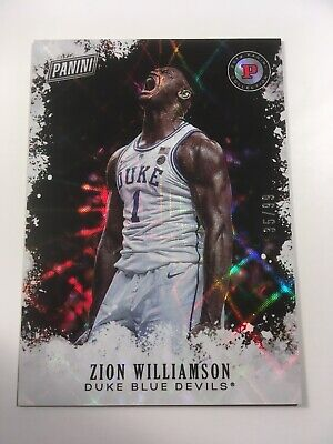 $59.99 • Buy 2019 Zion Williamson Black Friday ROOKIE Card /99 RC SP Refractor Duke Pelicans
