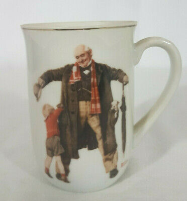 $ CDN16.80 • Buy 1936 The Saturday Evening Post Coffee Mug/Cup Norman Rockwell