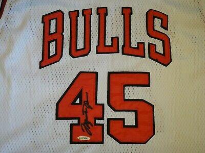AU8395.76 • Buy Michael Jordan #45 Upper Deck Authenticated Uda Signed Jersey 1994-95 Autograph