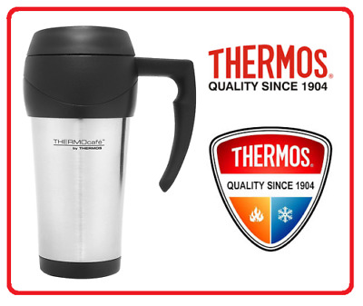 AU19.95 • Buy ❤ THERMOS THERMOCAFE 450ml TRAVEL MUG Insulated Cup Coffee Tea Stainless Steel ❤