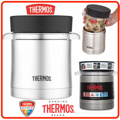 AU31.80 • Buy ❤ Thermos Vacuum Insulated Food Jar Microwavable Container 355ml Stainless Steel
