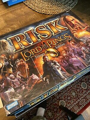 $31 • Buy The Lord Of The Rings Risk Trilogy Edition Complete With Ring