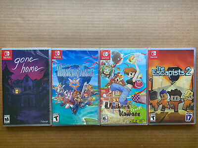 $125 • Buy Lot Of 4 (Nintendo Switch Games) Brand New!! Free Shipping!!