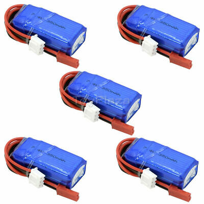 $ CDN45.48 • Buy 2S 7.4V 350mAh 20C LiPO Battery JST Plug For RC Airplane Helicopter FPV Drone