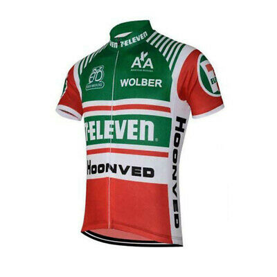 AU26.72 • Buy Mens Team Retro 1986 7-Eleven Davis Phinney Cycling Jerseys Short Sleeve