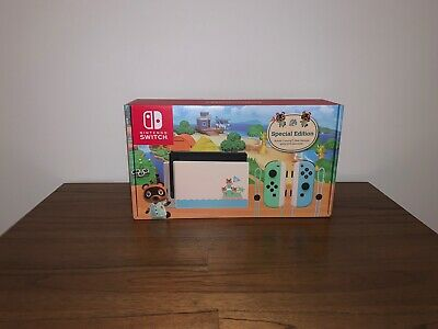 AU620 • Buy Nintendo Switch Animal Crossing: New Horizons Special Edition Console