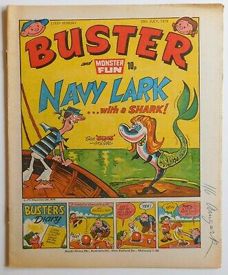 BUSTER Comic - 28th July 1979 • 2.99£