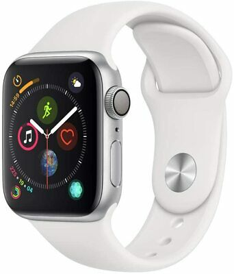 $ CDN392.87 • Buy Apple Series 4 NIKE+ 40mm Silver Watch With White Sport Band GPS Only