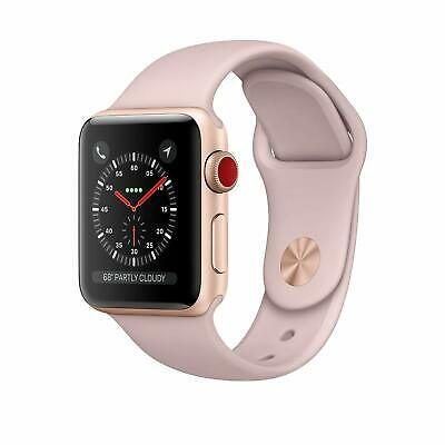 $ CDN315.74 • Buy Apple Series 3 Rose Gold 42mm Watch With Pink Sports Band GPS + Cellular