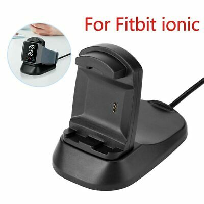 $ CDN21.01 • Buy Fitbit Ionic Charger Stand Charging Dock Cable Smartwatch Charge Integrated NEW