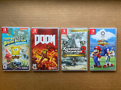 $140 • Buy Lot Of (4) [Nintendo Switch Games] Very Good Condition!! Free Shipping!!
