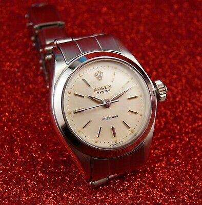 $ CDN2605.78 • Buy Pristine   Rolex   Oyster  Precision Ladies Manual Wind, Ref# 6410 From 1966 !!