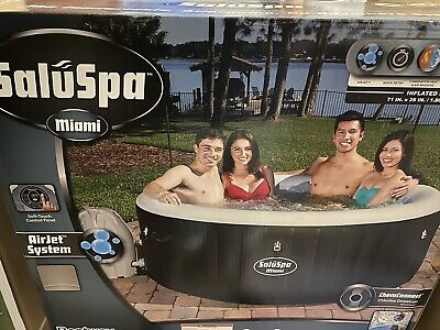 $650 • Buy Bestway 54124 SaluSpa Portable 4-Person Round Inflatable Hot Tub Spa With Pump