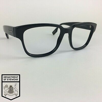HUGO BOSS Eyeglasses BLACK SQUARE Glasses Frame MOD: BOSS 0406/S 807JJ • 35£