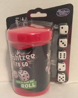 AU19.77 • Buy Yahtzee To Go Travel Game By Hasbro