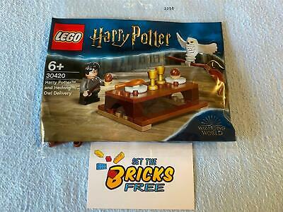 AU10.99 • Buy Lego Harry Potter 30420 Harry Potter& Hedwig Owl Delivery Polybag New/Sealed/H2F