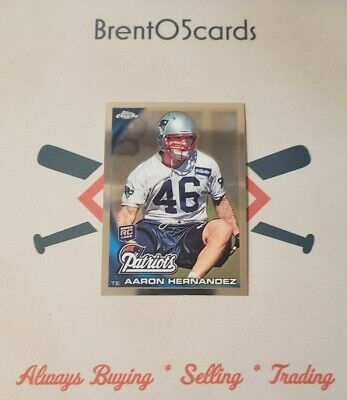 $5.99 • Buy 2010 Topps Chrome Aaron Hernandez Rookie RC #C87 New England Patriots (QTY)