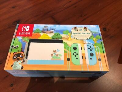 AU689 • Buy LIMITED EDITION Nintendo Switch Animal Crossing: New Horizons Special Edition #1