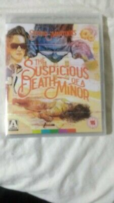 The Suspicious Death Of A Minor  Blu-ray & Dvd Sergio Martino  New & Sealed  • 14.99£