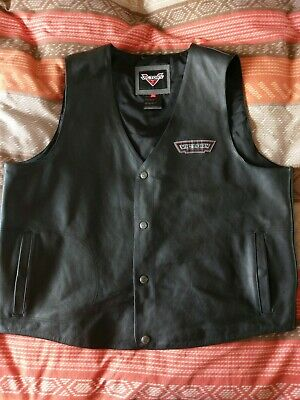 Victory Clothing , Motorcycle , Leather , Waist Coat , Men's • 60£