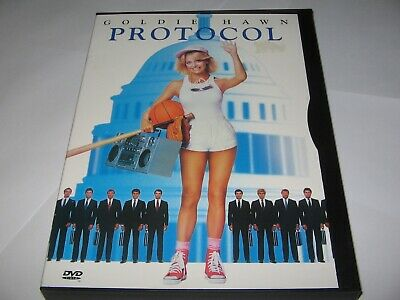 Protocol (1984) Goldie Hawn Comedy    Original Rare Official Region 1 Dvd • 9.20£