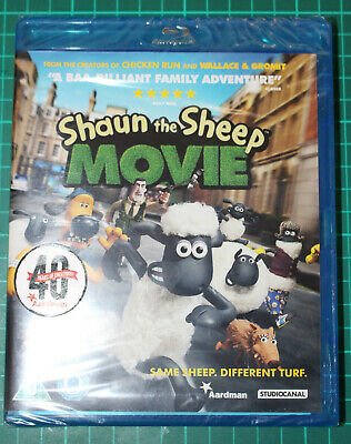 Shaun The Sheep Movie Blu-Ray 2015 New And Sealed • 3.99£