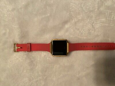 $ CDN78.66 • Buy Fitbit Blaze FB502 Activity Tracker Large Pink Band W/ Charger Good Condition