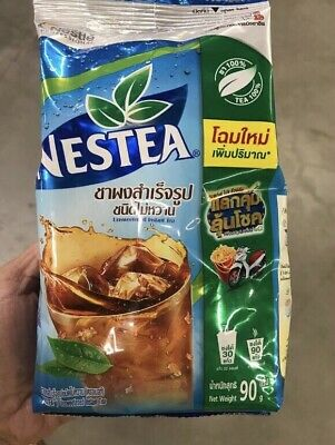 $19.95 • Buy 90g Nestea Nestle Unsweetened Iced Tea Mix Drink Powder Home Party Thai Food