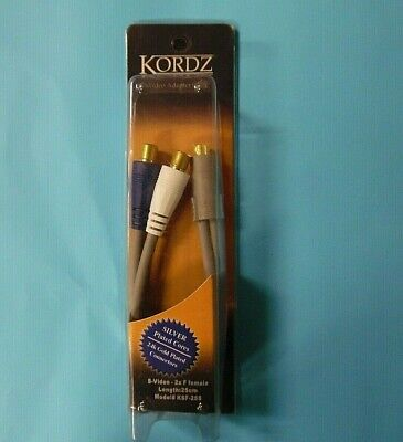 AU18 • Buy KORDZ Male S-Video To 2 Female Cable Adapter Splitter