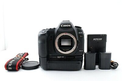 $ CDN695.44 • Buy Canon EOS 5D MARK II Digital SLR Camera Black Body W/BG-E6 Battery Grip 638895