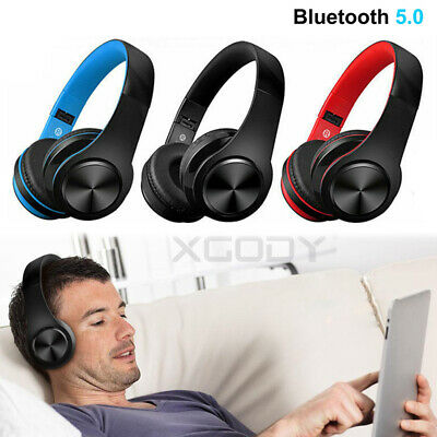 Bluetooth Wireless/Wired Stereo Headphones Headset Over Ear For IPhone Sony • 14.69£