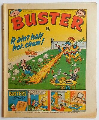BUSTER Comic - 31st January 1976 • 2.99£