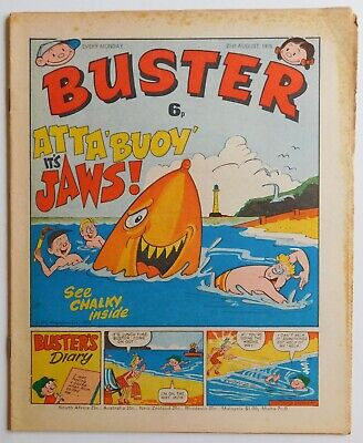 BUSTER Comic - 21st August 1976 • 2.99£
