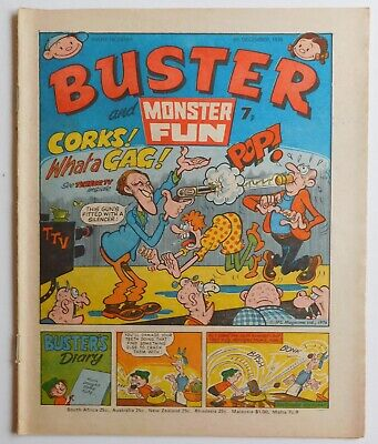 BUSTER Comic - 4th December 1976 • 2.99£