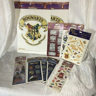 $19.99 • Buy Harry Potter Vintage Sticker 10 Pack Lot 2000 & 2001 New Sealed Collection