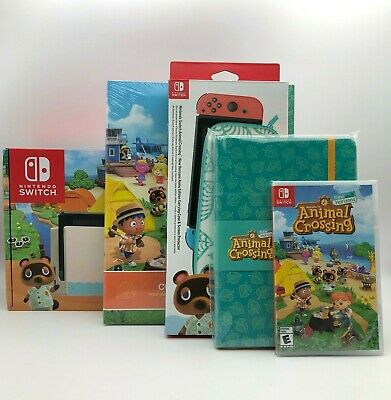 $ CDN1610.99 • Buy Nintendo Switch Animal Crossing: New Horizon Special Edition Collection Lot