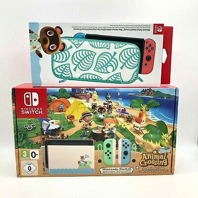 $ CDN1342.49 • Buy Nintendo Switch Animal Crossing New Horizons Edition UK Version W/ Game And Case