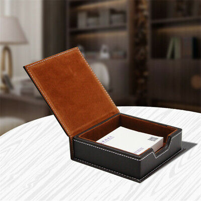 Office Business Card Dustproof Coin Storage Box Organizer Father's Day Gift GA • 5.57£