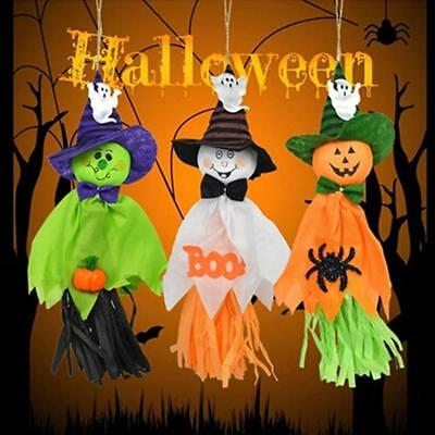 $ CDN3.83 • Buy Halloween Garland Party Animated Scary Ghost Props Pendent Decorations GA